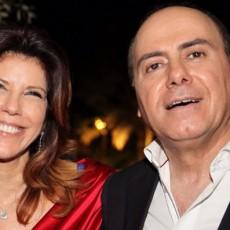 سلفان شالوم وزوجته