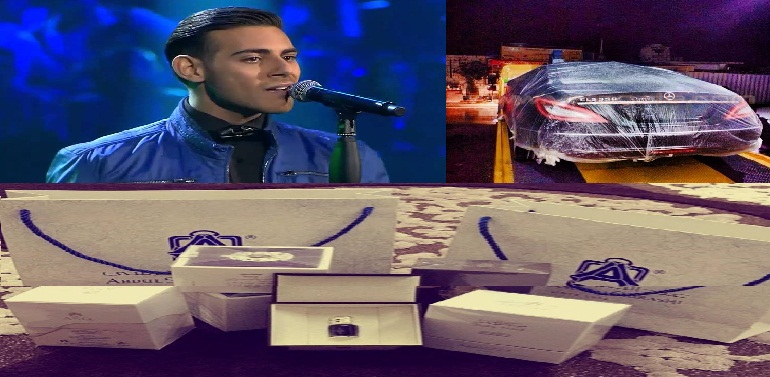 المتسابق اللبناني عمر دين