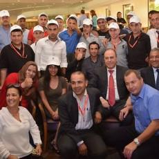 وزير داخلية اسرائيلي المستقيل مع عمالة أردنية