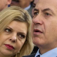 نتنياهو وزوجته سارة