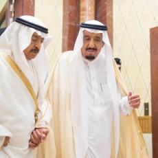 العاهل السعودي ورئيس الوزراء البحريني