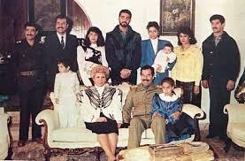 عائلة صدام حسين