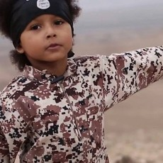 طفل داعش