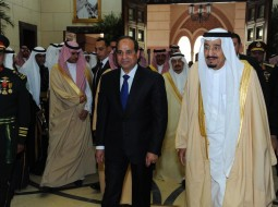 السيسي والعاهل السعودي
