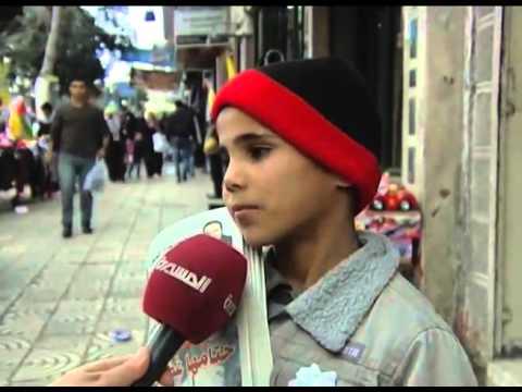 """""""فيديو"""".. طفل فلسطيني يتمنى الموت بمناسبة العام الجديد؟!!"""