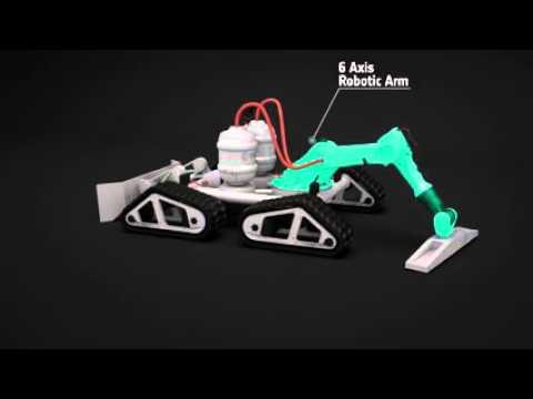 بالفيديو…بناء قاعدة على القمر بتقنية ثلاثية الأبعاد!