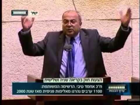 """""""فيديو"""": النائب أحمد الطيبي يحرج نتنياهو بهذا الرد بعد انزعاجه من الآذان """"خليه يعوي"""""""