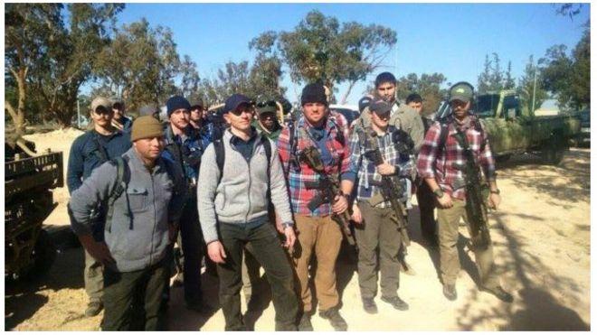 جنود أمريكيون في ليبيا