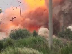 """لبوات الأسد يطرن في سماء دمشق """"فيديو"""""""