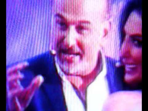 """""""فيديو"""": جمال سليمان يضرب حورية فرغلي على الهواء"""
