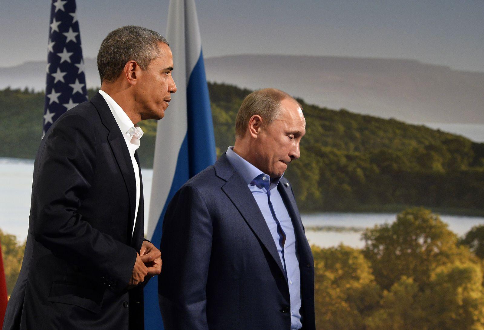 أوباما وبوتين