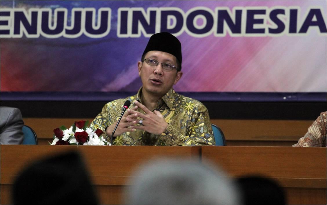 وزير الشؤون الدينية الإندونيسى لقمان حكيم