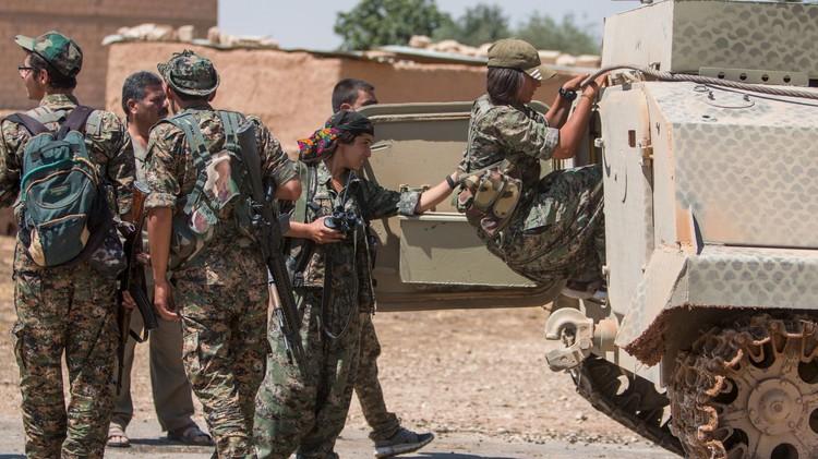 الوحدات الكردية