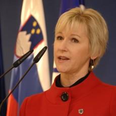 وزيرة الخارجية السويدية مارجو فالستروم
