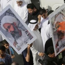 احتجاجات على اعدام نمر النمر