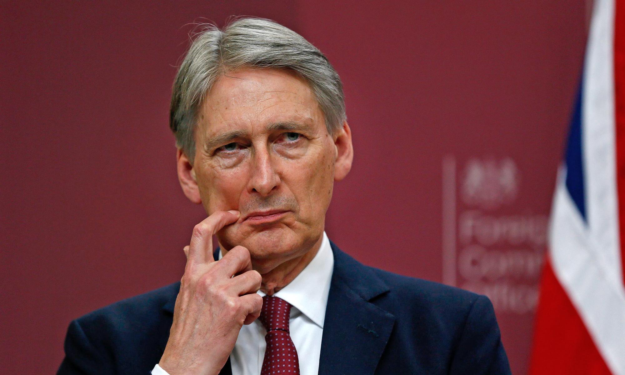 فيليب هاموند وزير خارجية بريطانيا