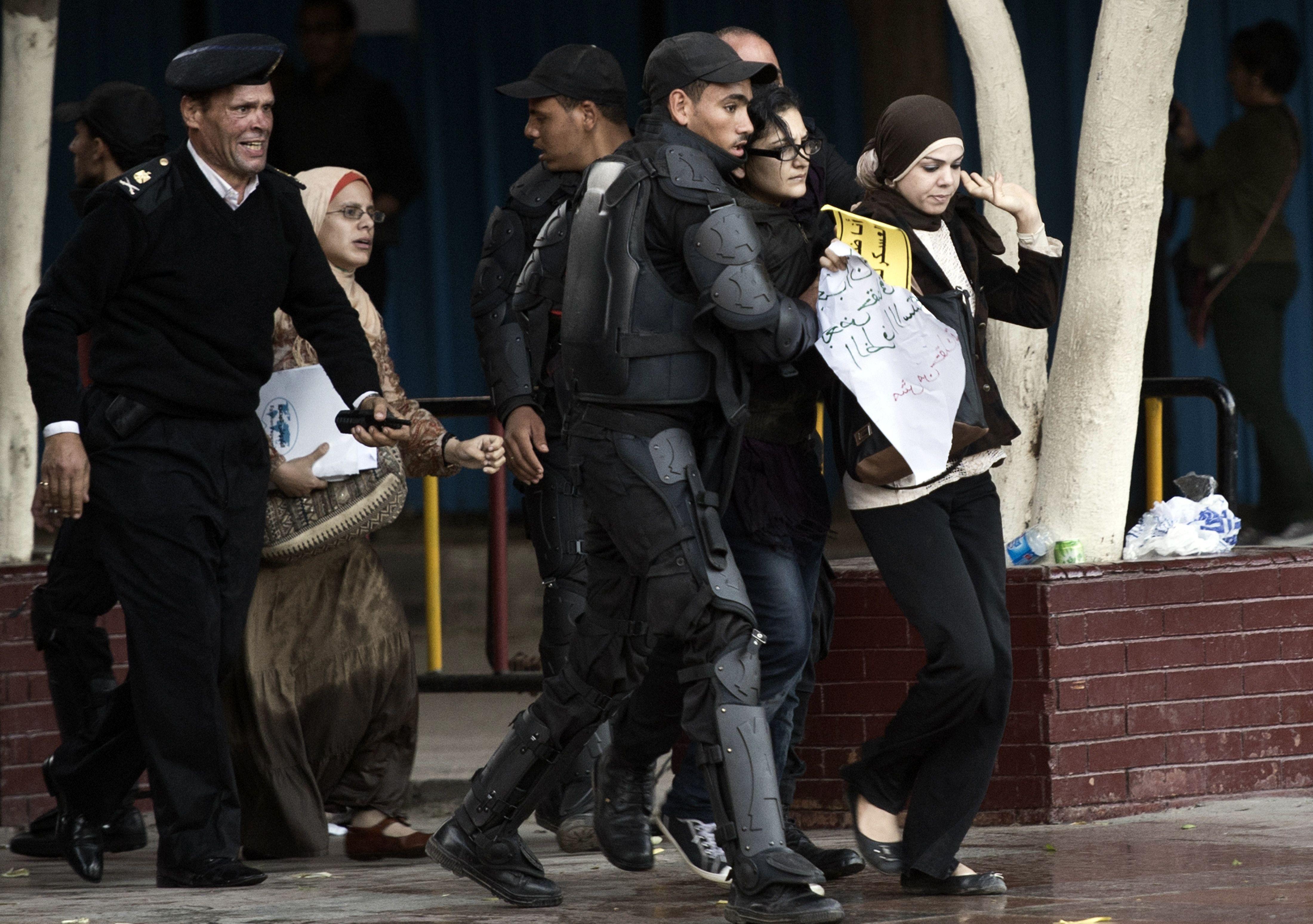 الاعتقال السياسي في مصر