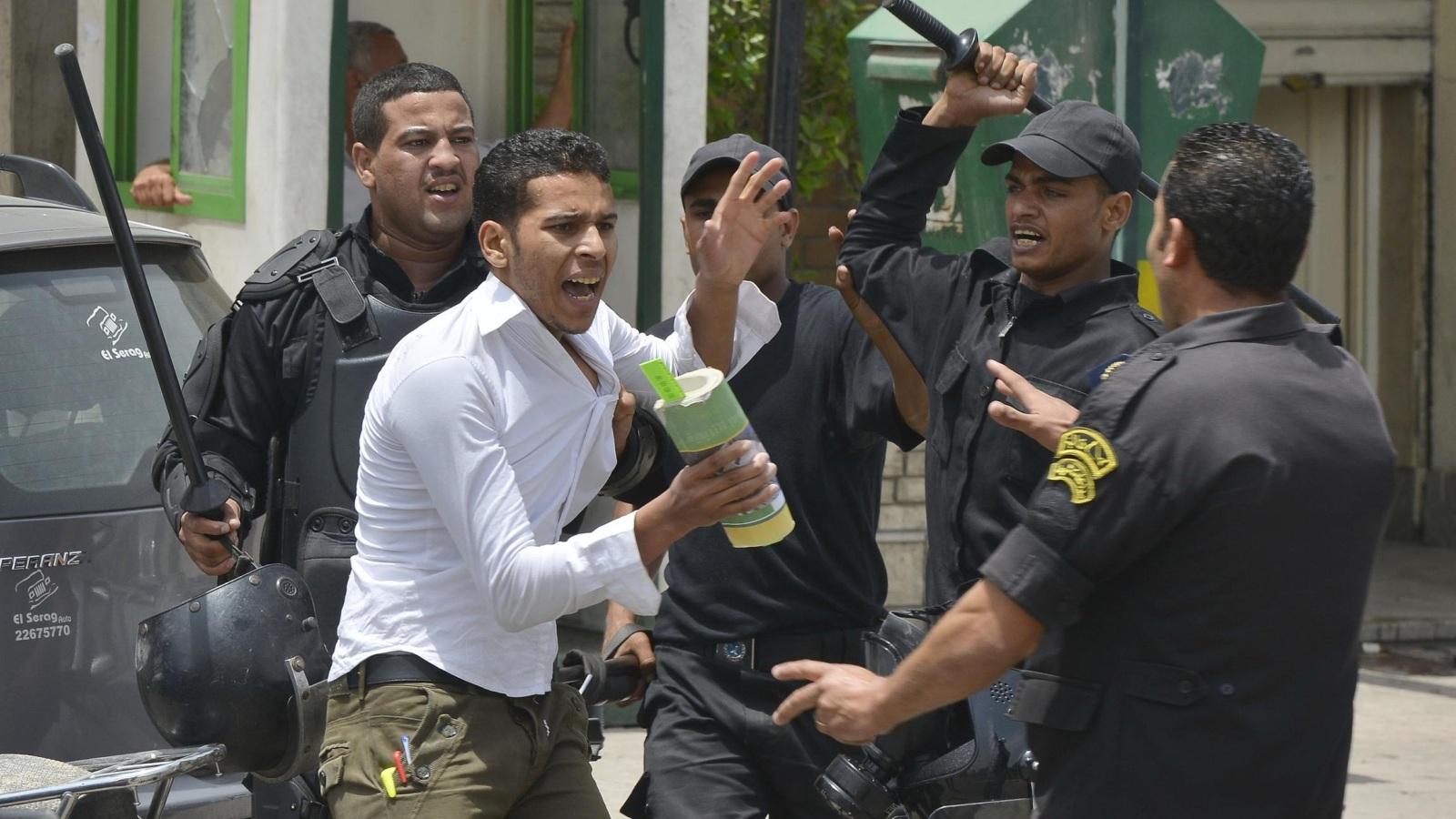 القمع في مصر