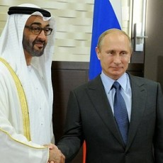 بوتين ومحمد بن زايد