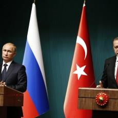 الرئيس التركي ونظيره الروسي