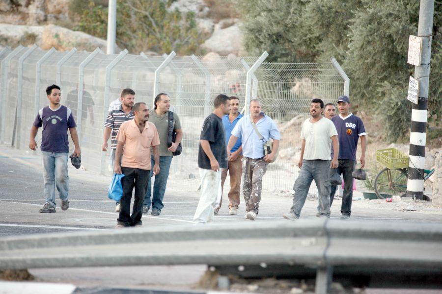 عمال فلسطينيين/ أرشيف