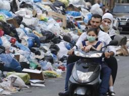 ازمة النفايات في لبنان