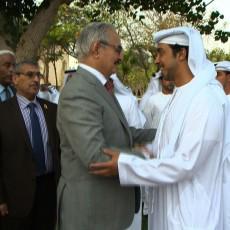 خليفة حفتر في الإمارات