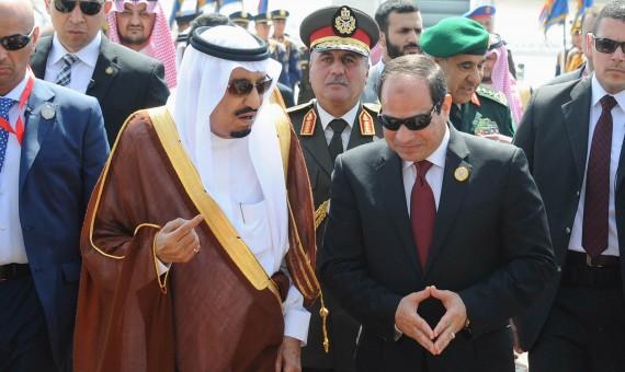 السيسي لا يشبع من الرز السعودي