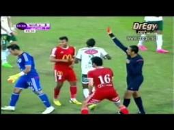 فيديو.. حارس فلسطيني بالدوري المصري يخوض المباراة بعصبيته وعضلاته