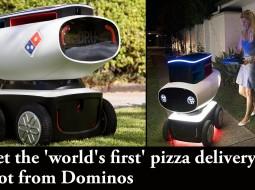 بالفيديو| أول روبوت لتوصيل البيتزا في نيوزيلندا