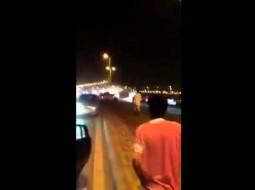 فيديو: تفحيط وصدم متعمّد وإطلاق نار بالأحساء السعودية