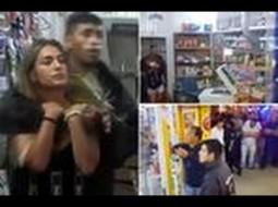 فيديو: لص يحتجز امرأة كرهينة ليفاوض على فراره