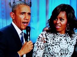 بالفيديو.. شاهدوا اوباما يغني ويرقص بطريقة جنونية في البيت الابيض!