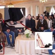 حذاء أسماء يكلف خمسة آلاف دولار فقط