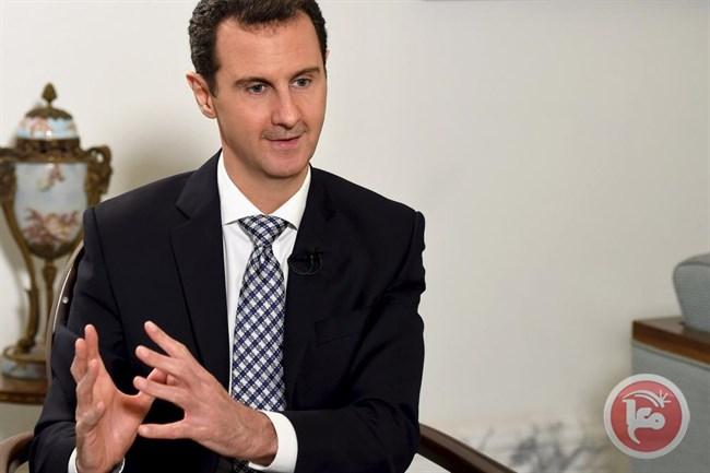 الأسد المقاوم لشعبه