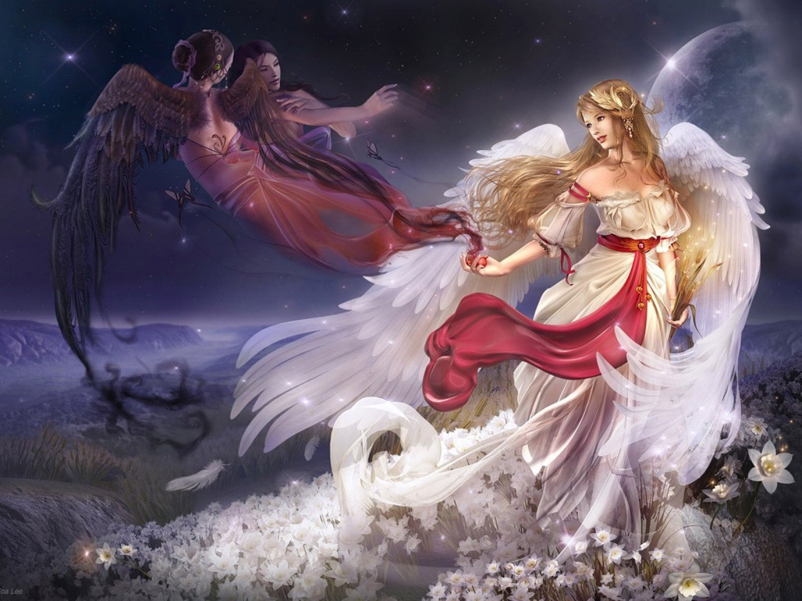الملائكة.. ذكور أم أناث