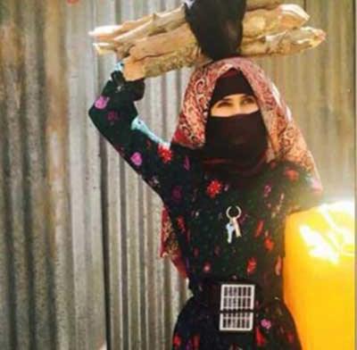 بالصور : ملكة جمال الحرب اليمنية تشعل النت 63-1