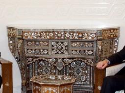 عمر البشير مع بشار الأسد