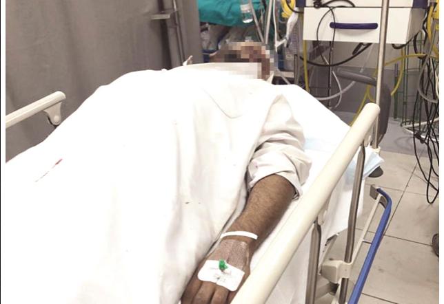 في الكويت عصابة تعتدي على مواطن كويتي وزوجته في الشارع لسبب تافه   وطن الدبور