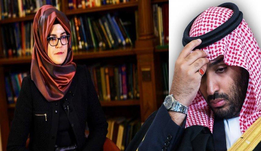 خطيبة خاشقجي خديجة جنكيز توجه ضربة جديدة لمنشار ولي العهد السعودي وطن الدبور