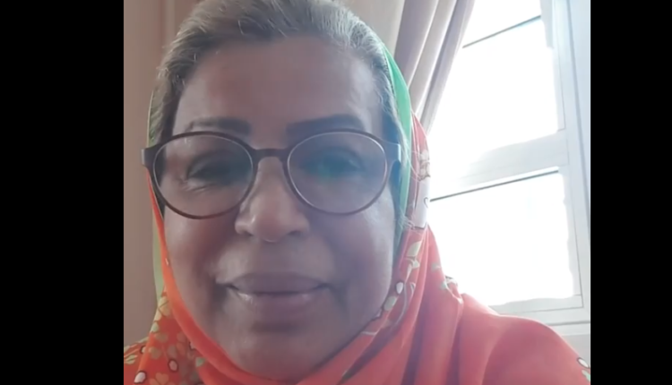 فخرية خميس تنشر فيديو بعد تعافيها من فيروس كورونا عن تجربتها