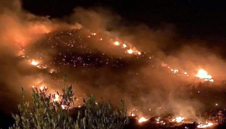 حريق السوده .. السعودية تحترق