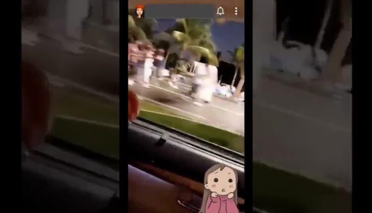 فتاة سعودية تتحرش