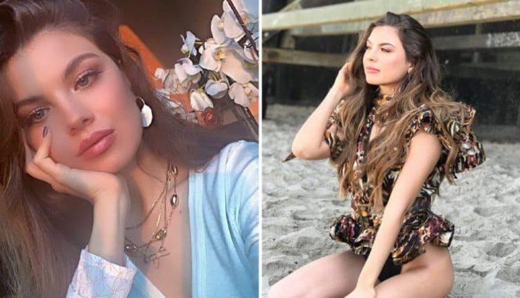 مايا رعيدي ملكة جمال لبنان تشجع السياحة عن طريق التعري