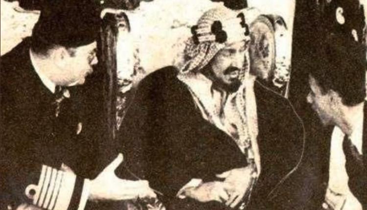 الملك فاروق طلب مترجم ليتفاهم مع الملك عبد العزيز آل سعود