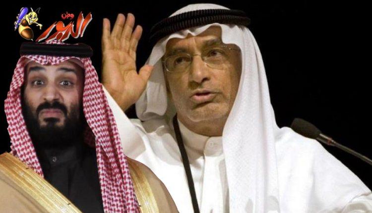 مستشار ولي عهد أبوظبي عبد الخالق عبد الله يهين الشعودية العظمى