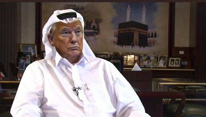 ترامب يهرب إلى مركز الفساد في العالم الإمارات وربما سيعمل محلل سياسي في قناة العربية