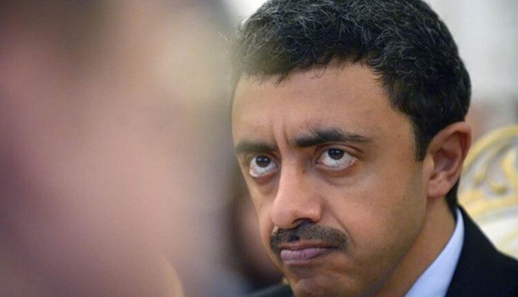 صورة متداولة ل وزير خارجية الإمارات