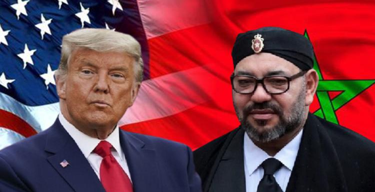ملك المغرب أمير المؤمنين يكرم المطرود من أمريكا ترامب