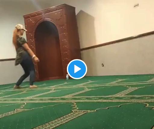 ممرضة سعودية ترقص في المسجد في زمن الترفيه